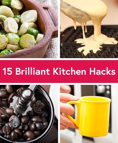 Our friends at @dailyburn give you 15 ingenious ideas to help you eat healthier.