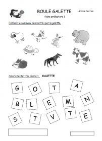 1000 images about roule galette on pinterest petite section and album - Personnages de roule galette ...