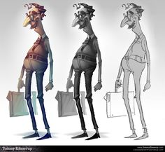 Cortometraje Y Makin Of de Animación 3d: Fuera de lo Común