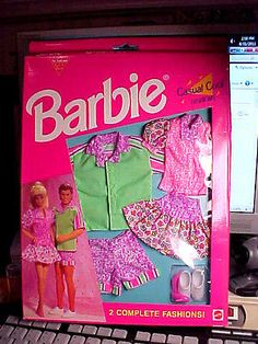 1993 Barbie Casual Cool Fashions 2 Outfits w Shoes NIB BUY IT NOW OR OFFER | eBay