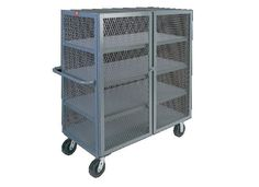 You are buying one Jamco 4 Shelf Mesh Security Truck. This cart comes in a variety of sizes which can be seen below. The casters can be Phenolic, Rubber, or Urethane. If you have any questions or need a shipping quote please feel free to contact us. Mobile Storage, Cabinets For Sale, The Ordinary, Locker Storage, Cart, Truck, Shelf, Mesh, Quote