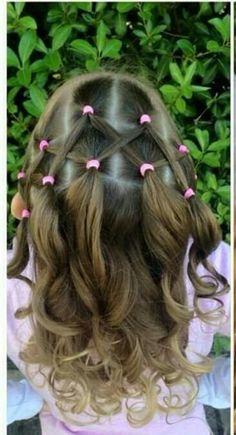 Einfache Frisuren für Kinder Mädchen