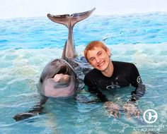 Nathan Gamble, who starred as Sawyer in Dolphin Tale and Dolphin Tale 2 stopped by to catch up with old friends!