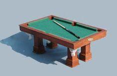 how to: mini pool table