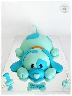 First Birthday Dog Cake