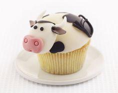 cow cupcake!!!