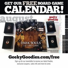 FREE goodies for tabletop board gamers and analog gamers of all types. Desktop Calendar, Calendar Wallpaper, Free Board Games, Game 7, Game Room Decor, Diy Games, Free Sign, Fun Cookies, Invite Your Friends