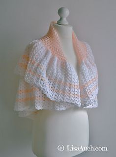 Peggy's Shawl By Lisa Auch - Free Crochet Pattern - (ravelry)