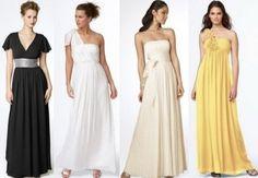 греческие выпускные платья