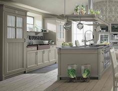 farmhouse chic | Farmhouse Style Kitchen Interior by Minacciolo - English Mood | Modern ...