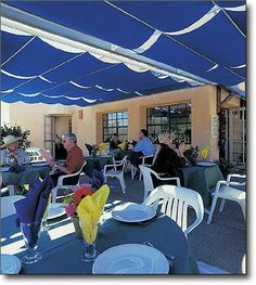 Commercial Patio Canopies By ShadeTree®| Restaurant Patio Canopies