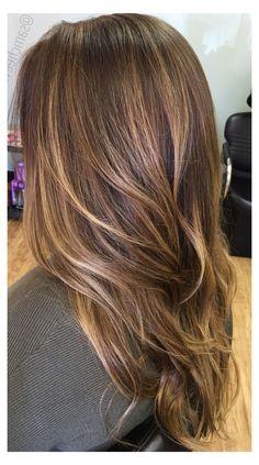 Short Straight Hair, Short Hair Cuts, Straight Hairstyles, Short Hair Styles, Trendy Hairstyles, Straight Weave, Everyday Hairstyles, Long Bob, Balayage Hair Caramel