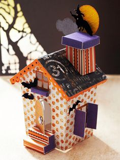 Bewitching Paper Haunted House