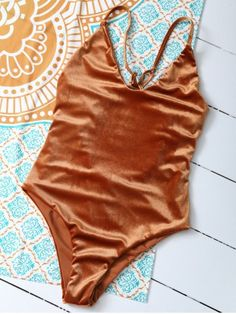 GET $50 NOW | Join RoseGal: Get YOUR $50 NOW!http://www.rosegal.com/one-pieces/criss-back-reversible-pleuche-swimwear-902498.html?seid=7764256rg902498