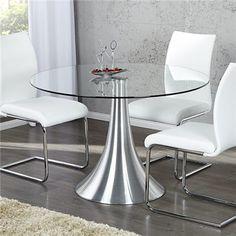 Stół Circle 110, szkło