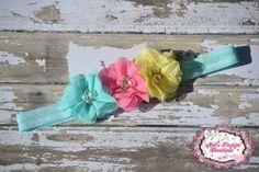 Easter headband girls Easter headband spring by MelsDesignBoutique, $9.99