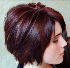 Dark Brown Pixie Hair