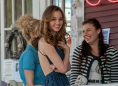 Liana Liberato the best of me blue dress