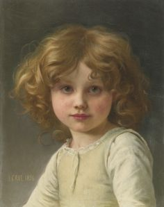 Jules-Cyrille Cavé | Lot | Sotheby's.......Jules-Cyrille Cavé, Young Girl with Curly Hair