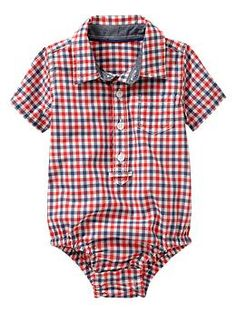 Great 4th of July outfit for the new babe.  (Baby Gap)