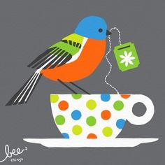 Painted Bunting | beethings