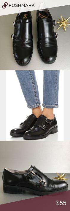 acd195ca6a8e Sam Edelman Melanie Leather Oxford 10   40 Substantial Sam Edelman shoe  with thick leather