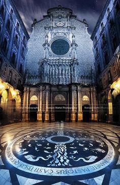 Monastery in Montserrat, Barcelona, Spain by Romain Matteï Photography.
