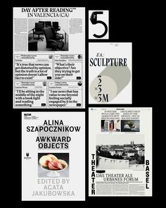 """thisiscatalogue: """"  Solid poster / typographic / editorial work from Basel based Ludovic Balland. """""""