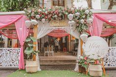 Wedding Gate, Order Of Wedding Ceremony, Wedding Decorations, Table Decorations, Entrance, Weddings, Flowers, Beauty, Entryway