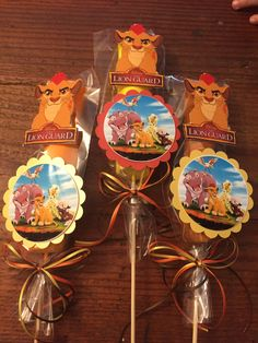 Lion guard themed Marshmallow Party Favors, Edible Party favors, lion king by SOUTHFLOWER on Etsy https://www.etsy.com/listing/471386346/lion-guard-themed-marshmallow-party