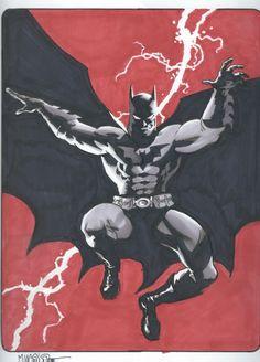Batman by Matt Wagner Comic Art