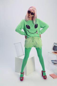 alien top
