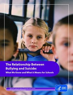 The Relationship Between Bullying and Suicide - What We Know and What It Means For Schools
