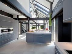 Huf Haus Kitchen - love the oven!