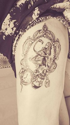 My Alice in Wonderland Tattoo