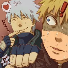 I don't ship these two either but this pic is TOO funny ESPECIALLY since Naruto KNOWS what Kakashi reads <3