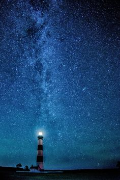 A different perspective of Bodie Lighthouse and the Milky Way. This one is looking from the parking lot towards the ocean.