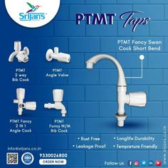 Srijan's Faucet can help you revamp your regular outlook into a contemporary and stylish outlook at affordable prices. these are: Low maintenance Manufactured with authentic PTMT Come with a 3-years warranty Rust Free Leakage Proof Long Life Durability Temperature Friendly Click here to buy www.srijans.co.in #faucet #plumbing #bathroom #home #bathtub #bathroomdesign #water #interiordesign #sanitaryware #plumbingwork #waterheater #pvc #plumbinglife #plumber #bathroomrenovation Fancy W, Rust Free, Plumbing, 3 Years, Faucet, Bathtub, Contemporary, Bathroom, Stylish