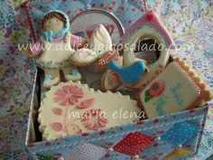 dulce y algo salado-cursos de galletas decoradas: Galletas decoradas.