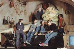 Jabba puppet on set rotj bts 01