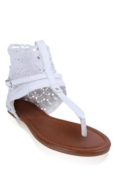 #crochet ankle #sandal with strap and crossover buckle  $24.50