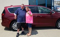 MICHAEL AND JANICE , we're so excited for all the places you'll go in your 2018 CHRYSLER PACIFICA!  Safe travels and best wishes on behalf of Landmark Chrysler Jeep Fiat and Gary Gredzieleski.