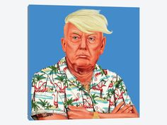 Donald Trump by Amit Shimoni 1-piece Canvas Art Print