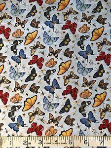 """Wilmington Prints  """"Illuminating Spring"""" Fabric  ~ 3 yards   eBay"""