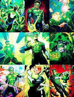 Kyle Rayner / Green Lantern Photoset