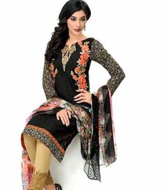 Gul Ahmed Chantilly de Chiffon festive collection CT-132