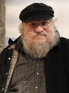 """George R.R.Martin, author of the """"A Song of Ice and Fire"""" medieval fantasies on which the HBO series """"Game of Thrones"""" is based."""