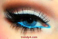 Easy Prom Eye Makeup 2014