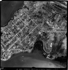 Aerial photo of Darwin 1944 Darwin Nt, Amazing Pics, First Nations, Historical Photos, Old Photos, City Photo, Travel Tips, Past, Old Things