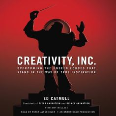 Creativity, Inc.: Overcoming the Unseen Forces That Stand in the Way of True Inspiration by Ed Catmull, http://www.amazon.com/dp/B00IPJTQQW/ref=cm_sw_r_pi_dp_YAgfvb0CM1EGM